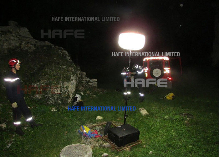 LED Rescue Balloon Lights Law Enforcement Portable For Earthquake Scene Disaster Relief